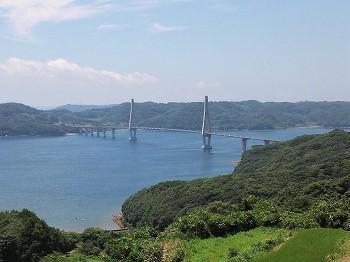 鷹島・福島グルメ&歴史ツーリング 鷹島大橋