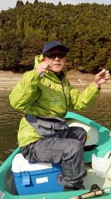 北山ダムでのワカサギ釣り2016年12月