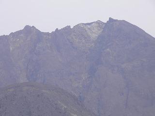 桜島山頂付近