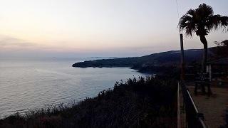 鹿児島 長島の夕暮れ