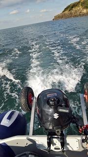 平戸島南部にてボートジギング
