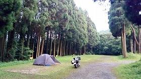 大分県・上津江フィッシングパーク キャンプ場