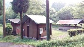 大分県・上津江フィッシングパーク キャンプ場 トイレ
