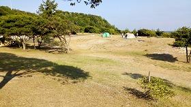 島根県立石見海浜公園無料キャンプ村