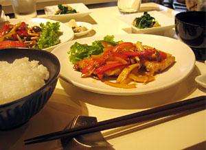 和食のランチ