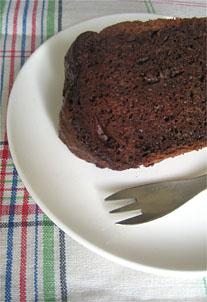 チョコレート シフォンケーキ