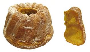 りんごとキャラメルのクグロフ