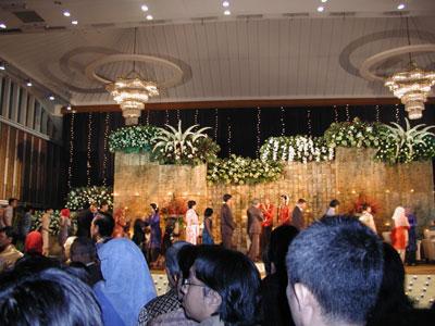 バンドゥンの結婚式2004.3