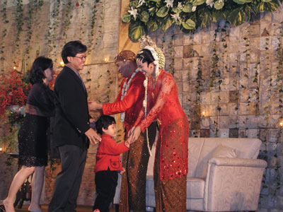 バンドゥンの結婚式2