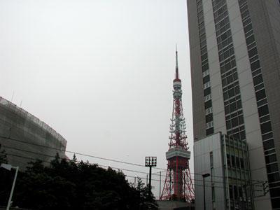 今日の東京タワー2006.5.17
