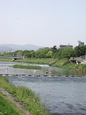 京都・鴨川2006.5.21