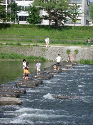 京都・鴨川3 2006.5.21