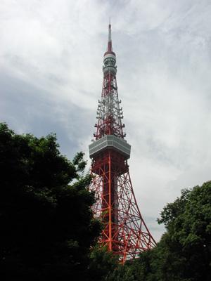 東京タワー2006.7.13