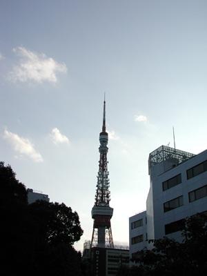 東京タワー2006.10.14