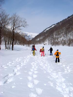 2008.2.23水上スノーシュー