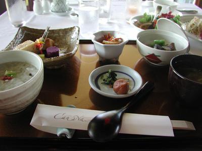沖縄・カンナリゾートヴィラ朝食