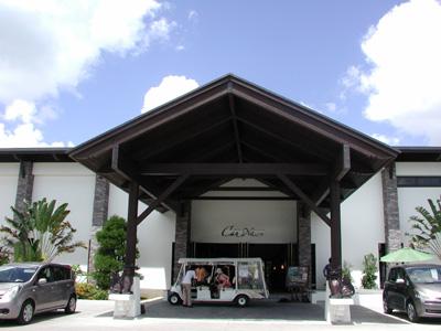 沖縄・カンナリゾートヴィラ・正面玄関