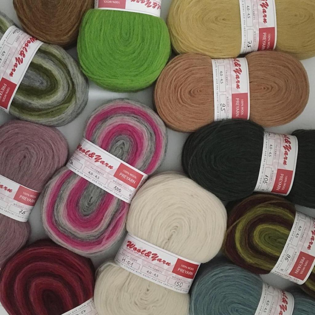 エストニア毛糸
