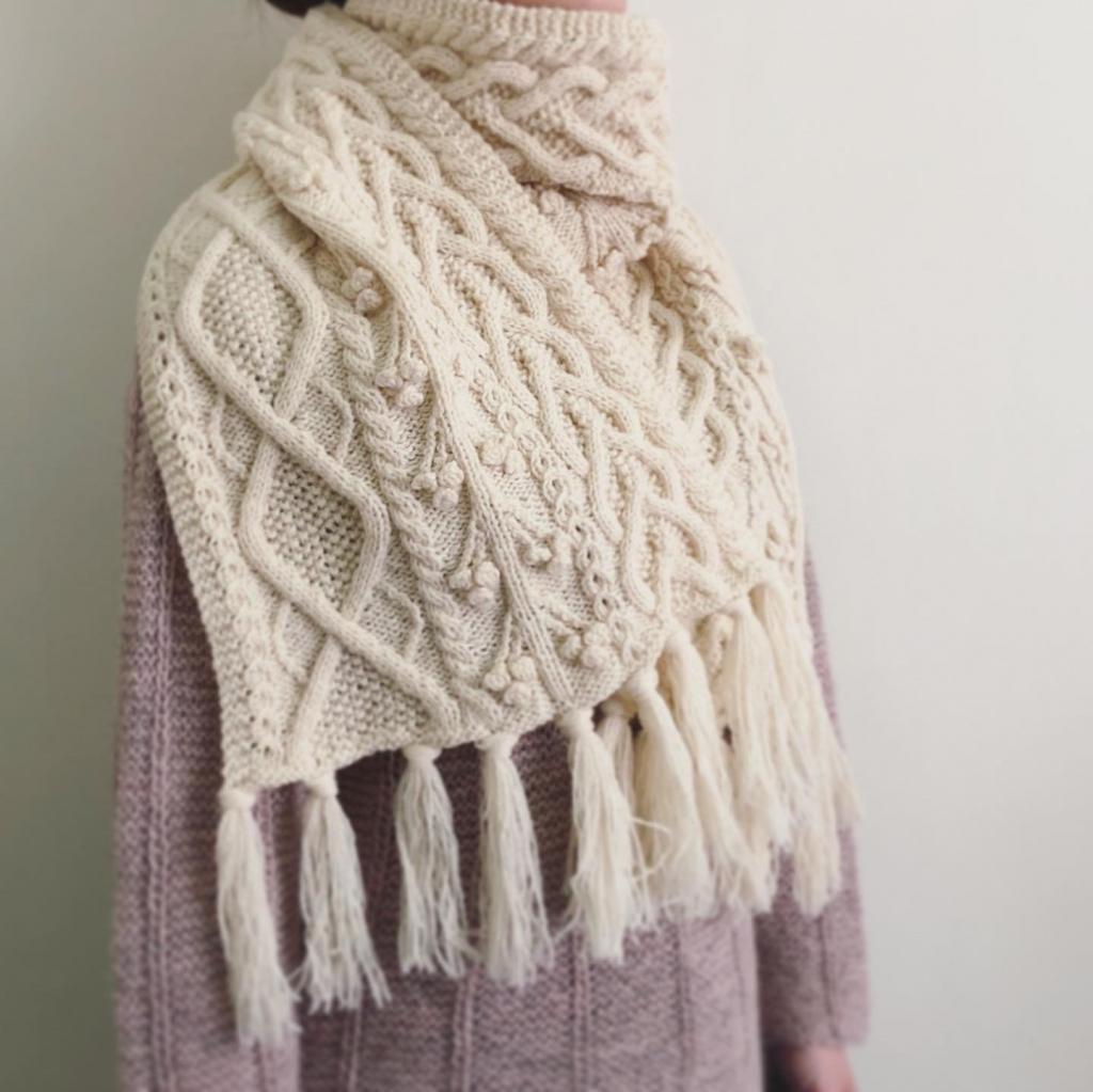 プチラムウールで編む