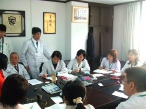 南京研修08:臨床の様子