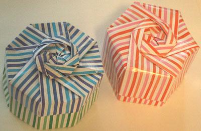 簡単 折り紙 : 折り紙 ユニット 箱 : hobby.coomin.lomo.jp