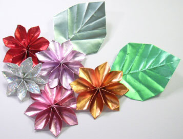 花 折り紙 立体 花 折り紙 : hobby.coomin.lomo.jp