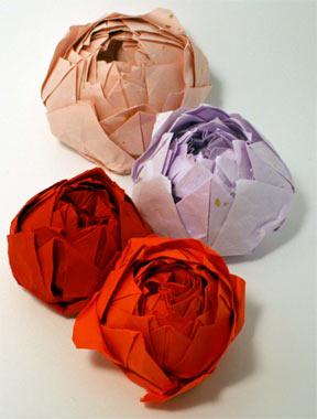 ハート 折り紙:折り紙 バラ 立体 折り方 簡単-hobby.coomin.lomo.jp