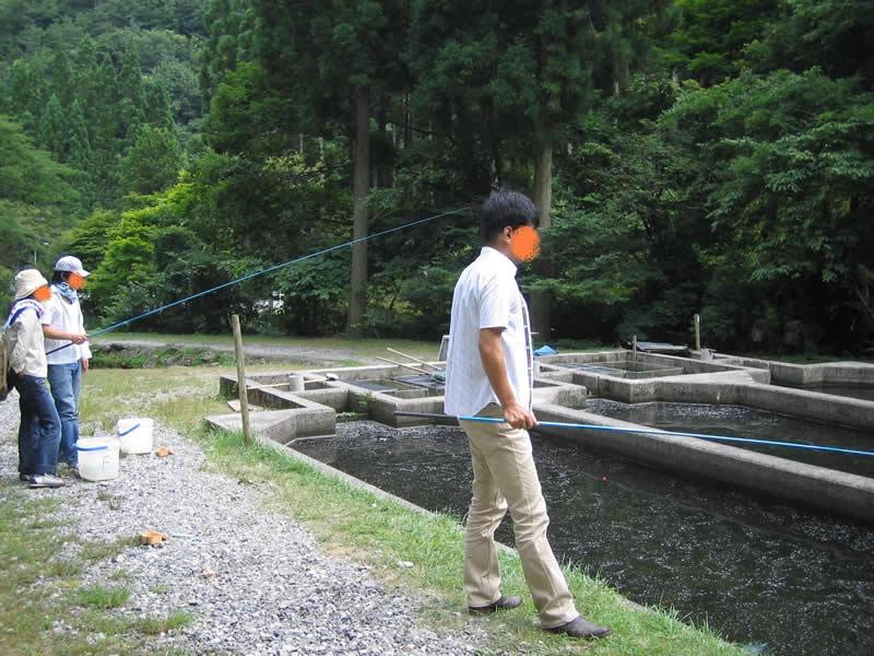 釣り掘り(釣ってます)