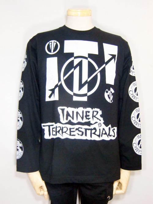■INNER TERRESTRIALS 2012 JAPAN TOUR LONG SLEEVE T SHIRT■