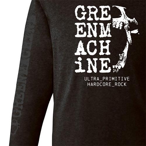 ��GREENMACHiNE_ULTRA PRIMITIVE HARDCORE ROCK LONG SLEEVE T SHIRT��
