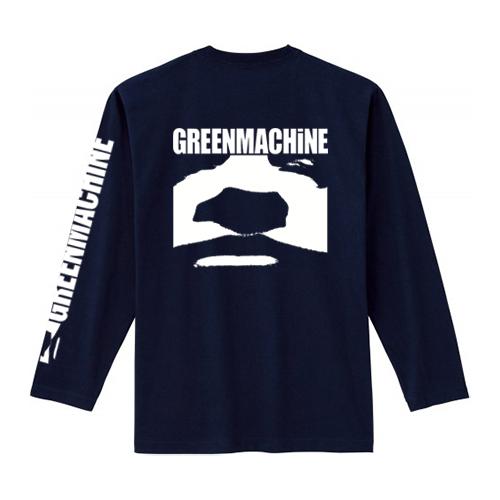 ��GREENMACHiNE_GOD GREEN LONG SLEEVE T SHIRT��