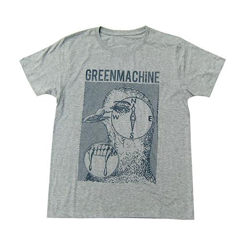 ��GREENMACHiNE x CYDERHOUSE T SHIRT GRAY��