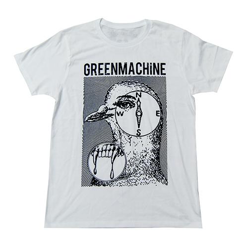 ��GREENMACHiNE x CYDERHOUSE T SHIRT WHITE��