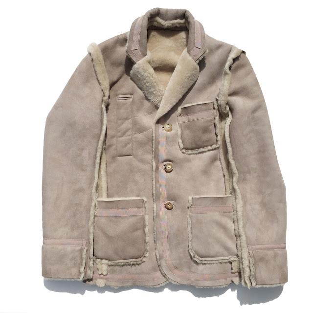 ��PEEL&LIFT_sheepskin inside-out jacket��