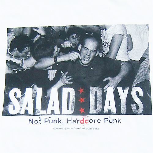 ■映画『SALAD DAYS』IAN MACKAYE T SHIRT WHITE■