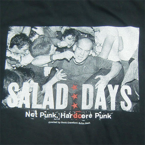 ■映画『SALAD DAYS』IAN MACKAYE T SHIRT BLACK■