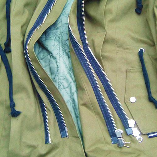 ��FU���DOBRAIN_M51 ATROCITY JACKET OLIVE��