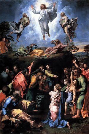 Rafello Sanzio, La Trasfigurazione - Roma Pinacoteca Vaticana