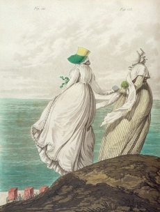 Bathing Place, from 'Gallery of Fashion', 1797