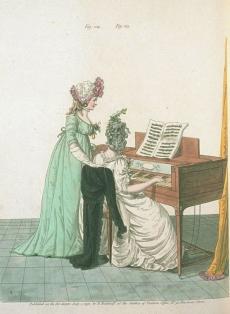 Heideloffs `Gallery of Fashion, July 1796