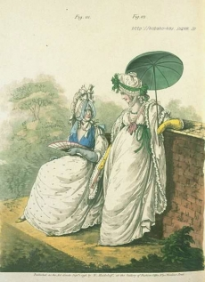 Gallery of Fashion, September 1796