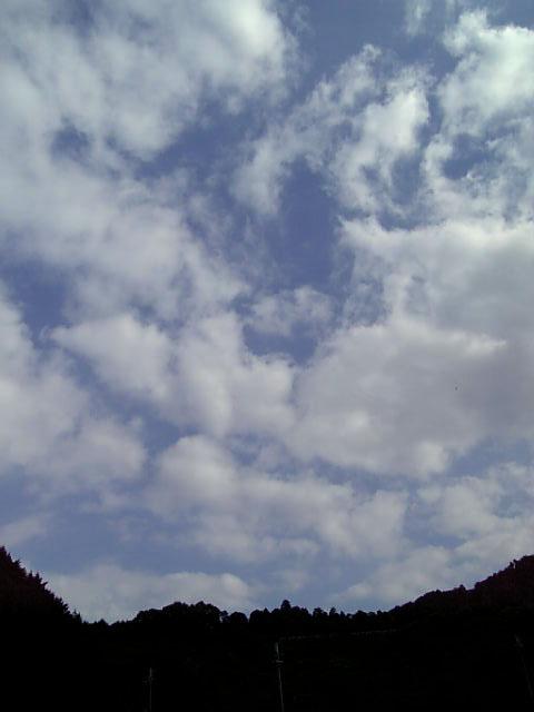昨日の青空