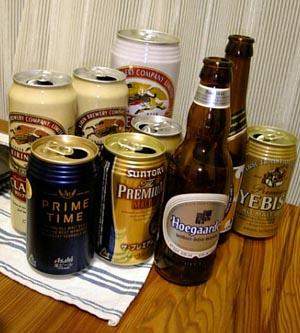 ちょっと贅沢なビール達