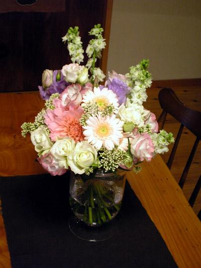 白と緑の花がお気に入り