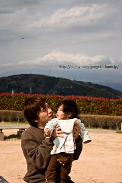 sinさんときのこと富士山