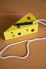 チーズのおもちゃ