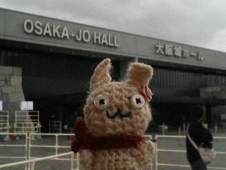 ウサコin大阪城