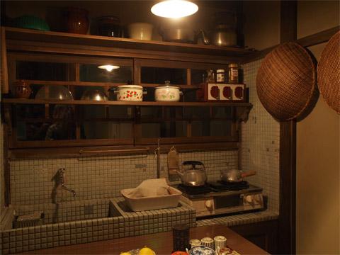 セットの台所