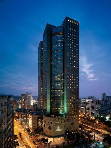 カップル向け台北ホテルの外観