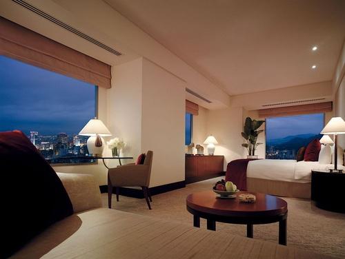 カップル向け台北ホテルの客室